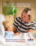 Moab Regional Hospital Report